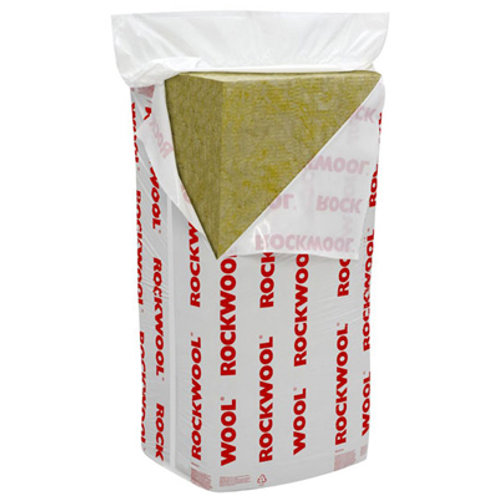 ROCKWOOL CAVITY WALL INSULATION 1200X450X75MM  4.91M2