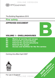 Building Regs Part B Volume 1