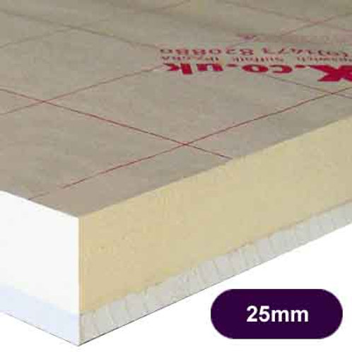 CELOTEX PL4025 INSULATED PLASTERBOARD 25MM+12.5MM