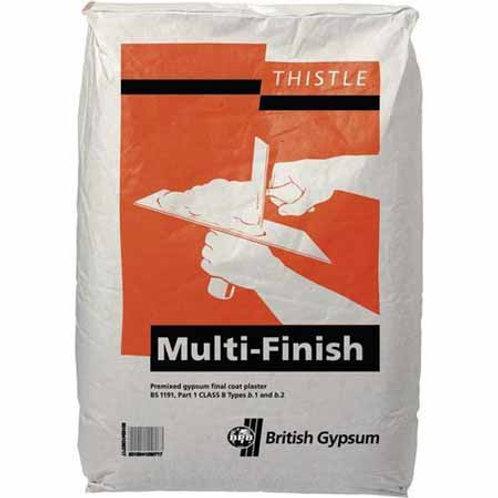 Thistle Multi Finish Plaster - 25 Kg