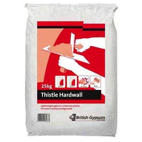 Thistle Hardwall Plaster - 25 Kg
