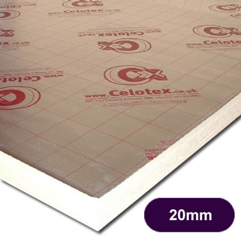CELOTEX TB4020 INSULATION 2400X1200X20MM