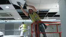 SUSPENDED CEILING INSULATION - Retain heat. Save energy. Save money