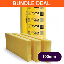ISOVER 36 100MM CAVITY INSULATION 20PACKS X 6.55M2