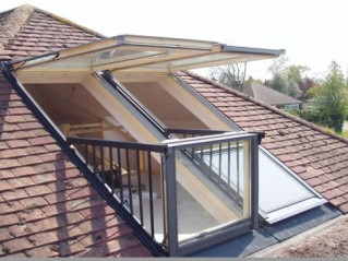 Design Options for Loft Conversions Part Two - Balcony Windows