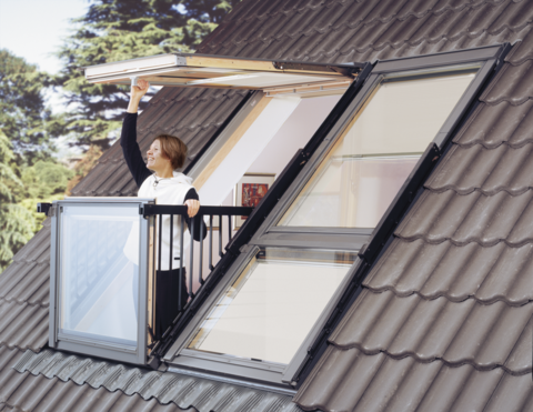 Pair Of Velux Cabrio Windows