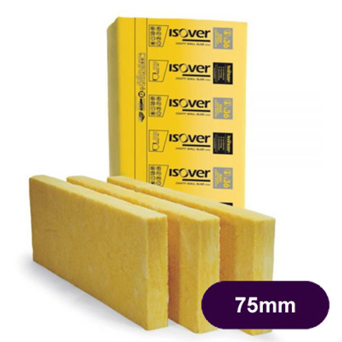 ISOVER 36 75MM CAVITY INSULATION 8.74M2 PACK