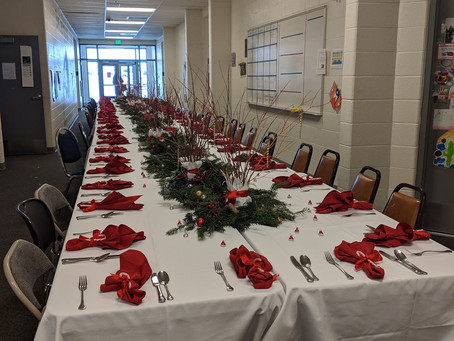 Silver Creek School Holiday Feast