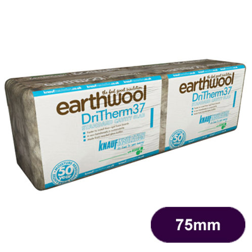 DRITHERM 37  75MM CAVITY INSULATION 4.37M2 PACK