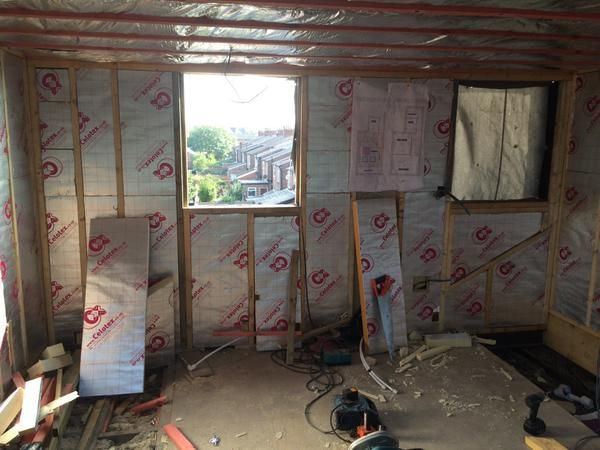 PIR Insulation Board to Loft Room
