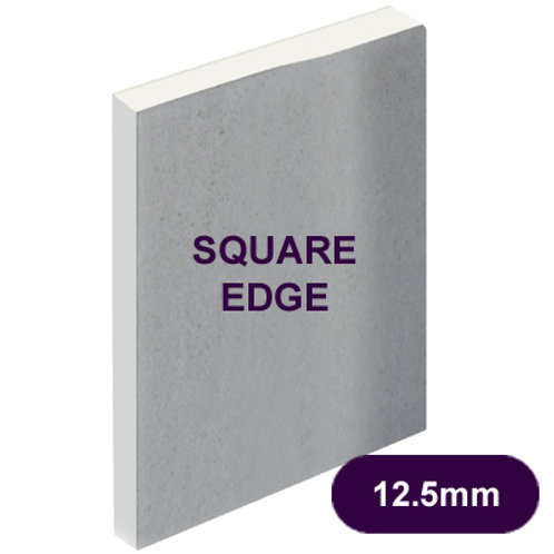 12.5MM PLASTERBOARD SQ/EDGE 2400 X 1200MM