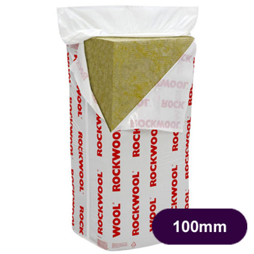 ROCKWOOL CAVITY WALL INSULATION 1200X450X100MM  3.28M2