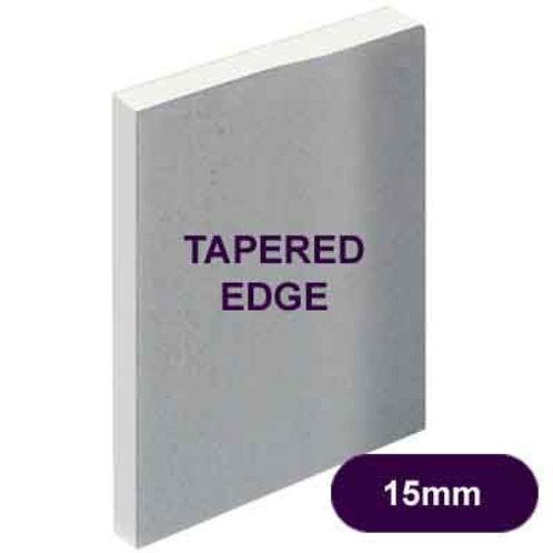 15MM PLASTERBOARD T/EDGE 2400 X 1200MM