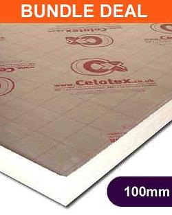 CELOTEX GA4100  2400X1200X100MM - 12 SHEETS