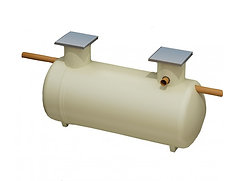 4800L Shallow Dig Septic Tank - Clearwater Klargester