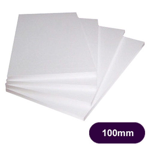 100MM POLYSTYRENE EPS70 INSULATION - 3 SHEETS