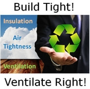 The Air Tightness Triangle - Air Tightness, Insulation and Ventilation