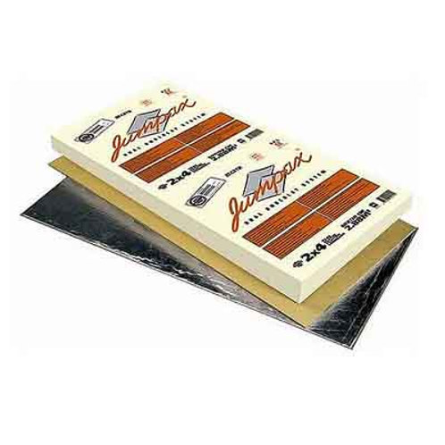 JUMPAX DUAL UNDERLAY ACOUSTIC INSULATION SYSTEM - 2.88 M2 PACK *5 PACK DEAL*