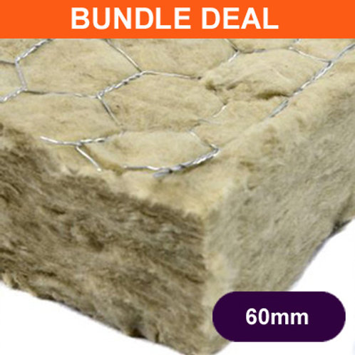 Rockwool Fire Barrier 60mm - 12 Pack Deal