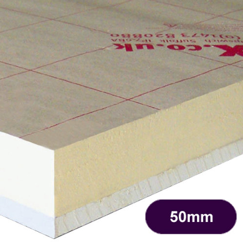 CELOTEX PL4050 INSULATED PLASTERBOARD 50MM+12.5MM