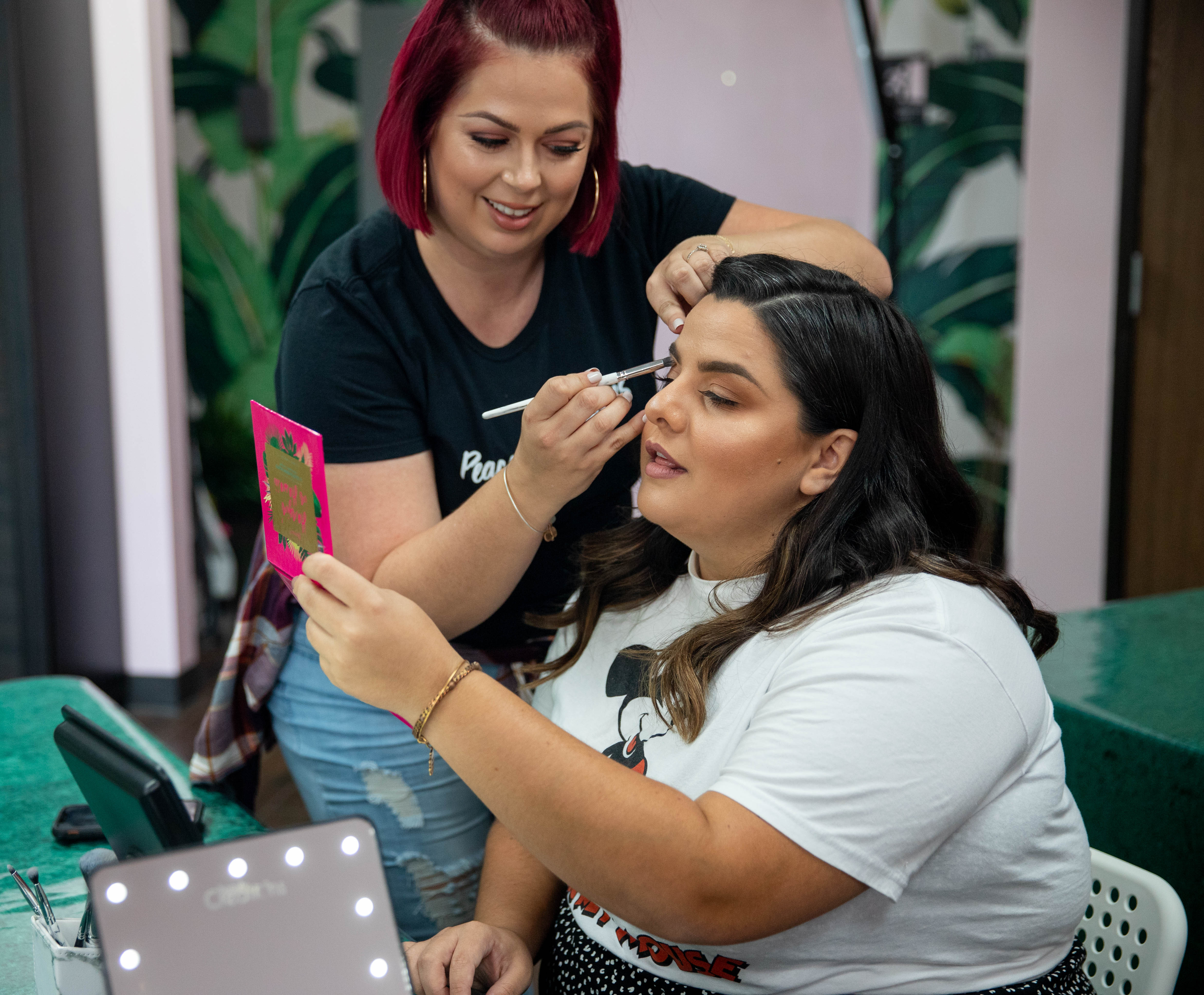 Private Makeup Class -With False Lashes