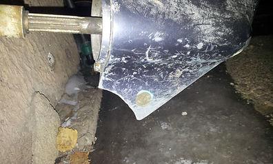 защита винта защита гребного винта и редуктора  подвесного лодочного мотора
