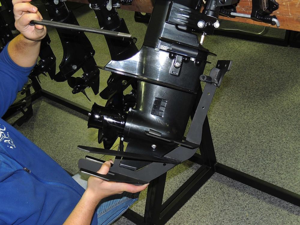 защита винта лодочного мотора сузуки 20