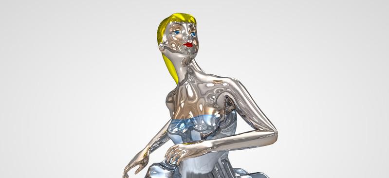 Phryne, de Jeff Koons: referência poética