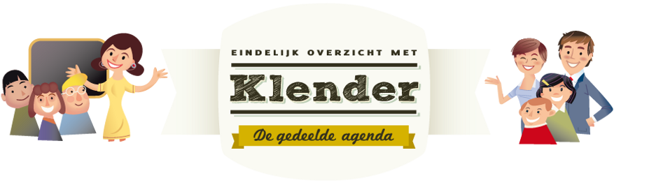 Klender logo with people