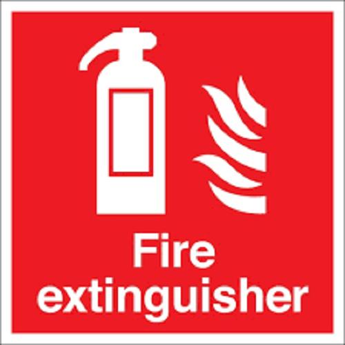 Fire Extinguisher Signage (Adhesive)