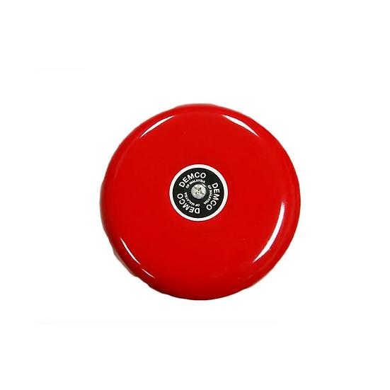 """D-132R Demco Motorised Alarm Bell 6"""" 24V DC Polarity, Red"""