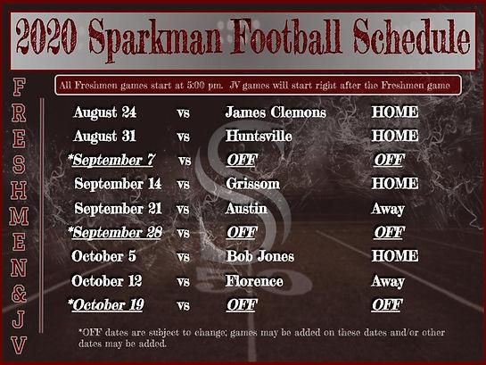 2020 Freshmen football schedule.jpg