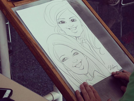 6 Types of Events to Consider Hiring A Caricature Artist