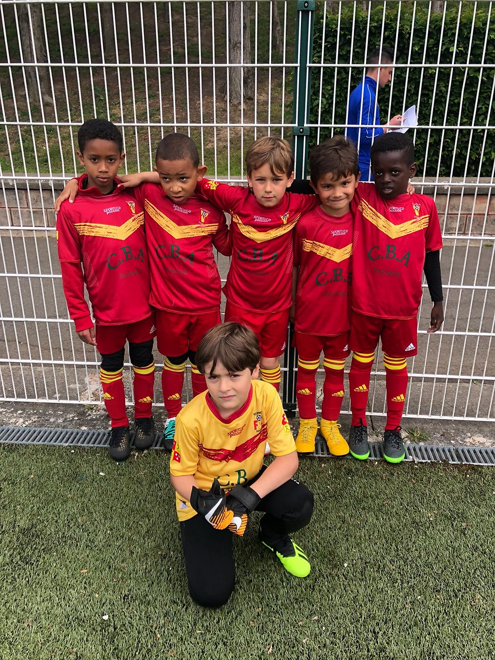 U7 en tournoi à Montesson