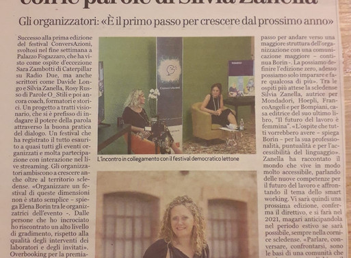 Cosa dice di noi il Giornale di Vicenza