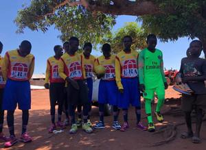 Don de Villepreux FC pour le Mozambique