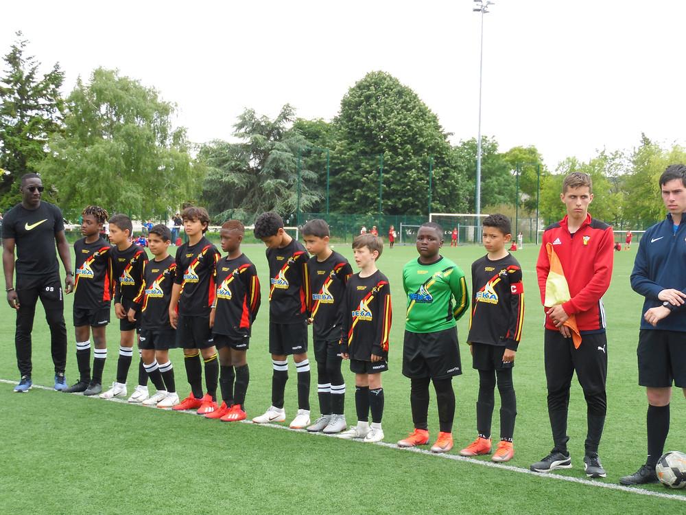 l'équipe  de Fontenay le Fleury