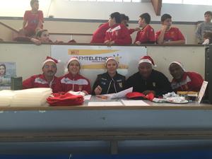 Le Villepreux FC participait au Téléthon 2016