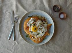 Greedy Cow turkish eggs