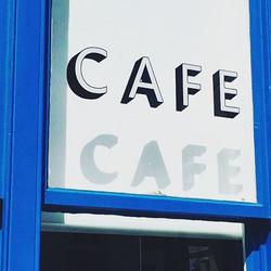 gc cafe sign