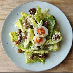 Greedy Cow Vegetarian Caesar Salad