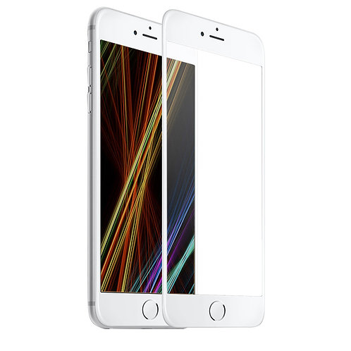 iPhone 6 Plus - 2.5D Full Cover (White)