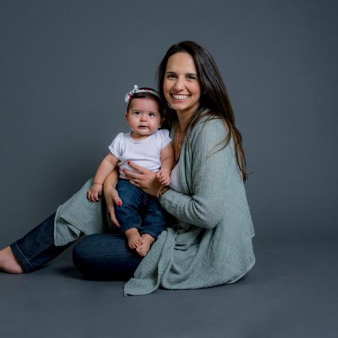 Giselle, Joana e família