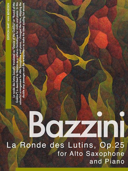 Antonio Bazzini - La Ronde des Lutins | Alto Saxophone and Piano