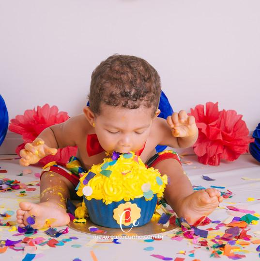 Smash the cake Miguel 1 aninho