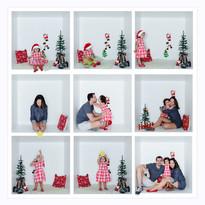Miniensaio Natal na Caixa