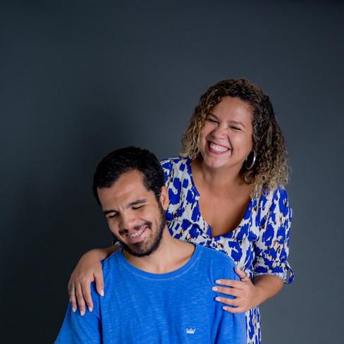 Marcia e João Pedro