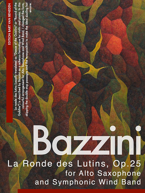 Antonio Bazzini - La Ronde des Lutins | Alto Saxophone and Symphonic Wind Band