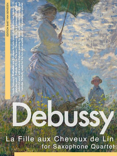 Claude Debussy - La Fille Aux Cheveux De Lin | Saxophone Quartet