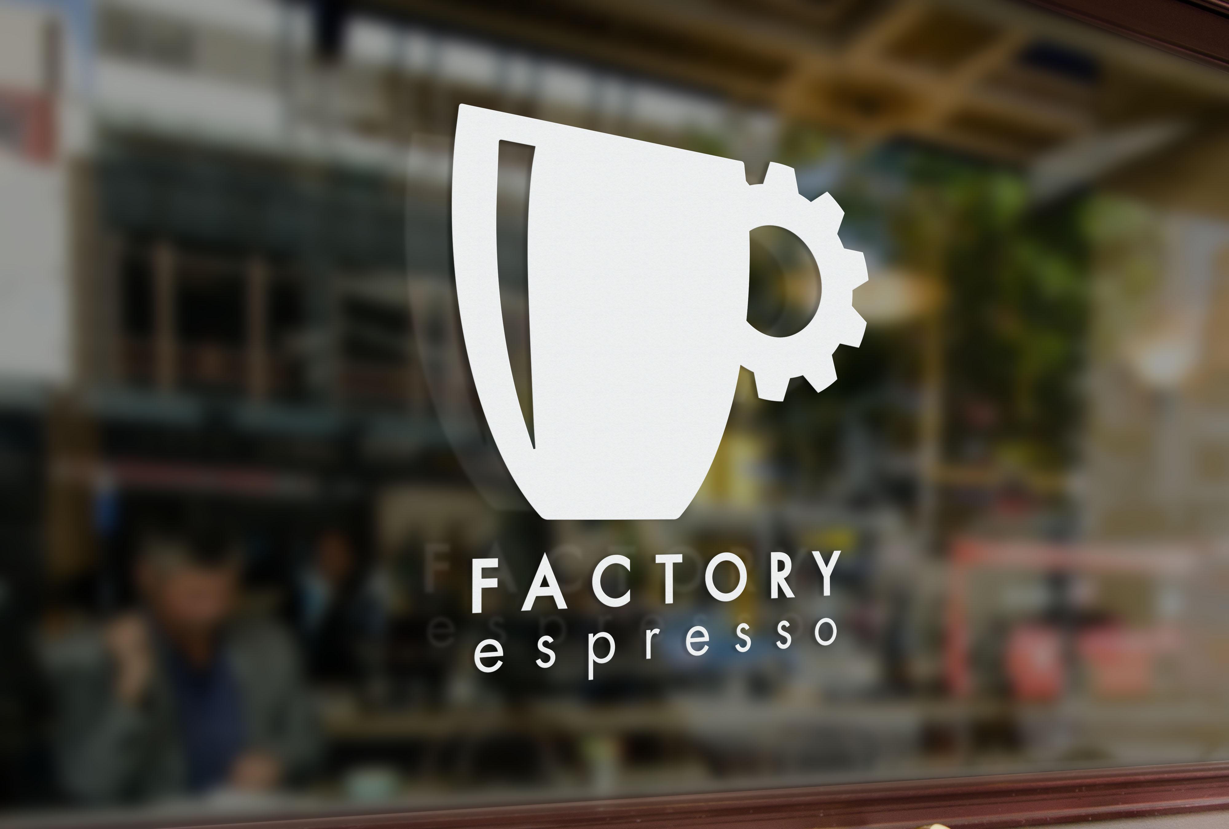 Factory Espresso Branding